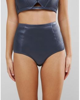 Satin Stitched Bikini Bottom