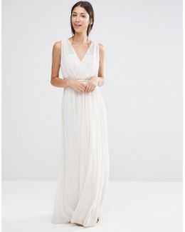 Grecian Maxi Bridesmaid Dress