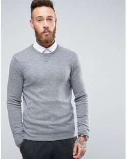 Knitted Sweat In Cashmere Blend
