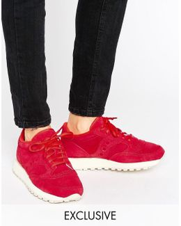 Exclusive Jazz O Suede Sneakers In Red
