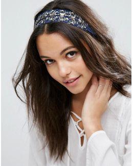 Embellished Paisley Headband