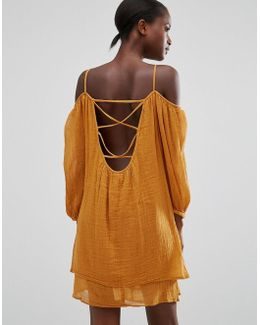 Off The Shoulder Loose Fit Dress