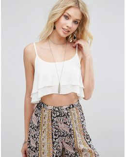 Beach Mix Match Frill Co-ord Top
