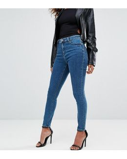 Ridley Ankle Grazer Jeans In Lanie Wash
