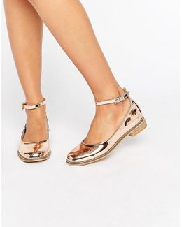 Minted Flat Shoes