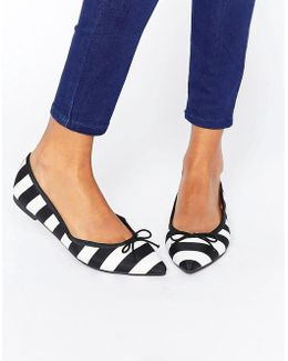 Leona Pointed Ballet Flats