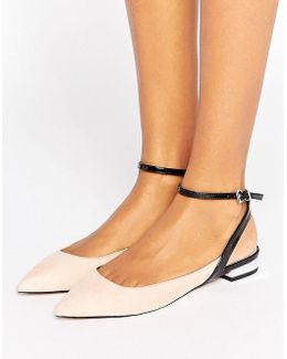 Lollies Pointed Ballet Flats