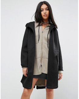 Parka In Oversized Mesh