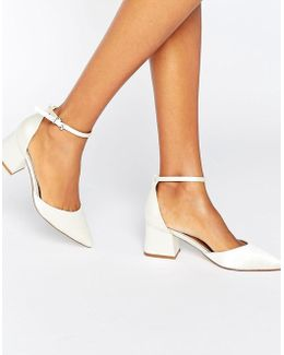 Starling Bridal Pointed Heels