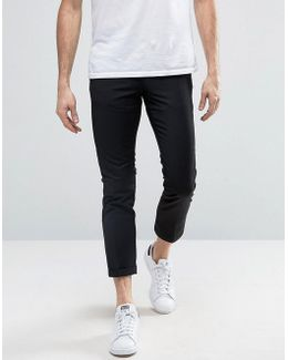 Penguin Formal Plain Cropped Pants
