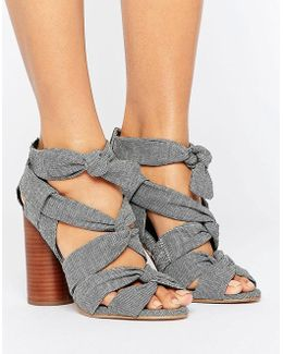 Total Knockout Knotted Sandals