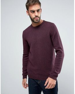 Midweight Cotton Crew Neck Jumper