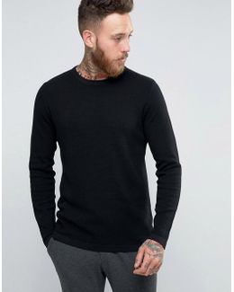 Premium Slim Textured Knit