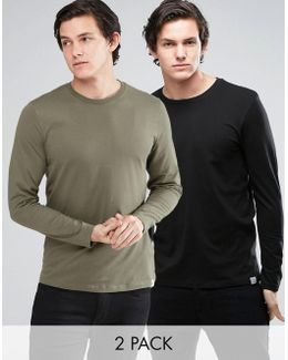 Originals Long Sleeve T-shirt 2 Pack Save
