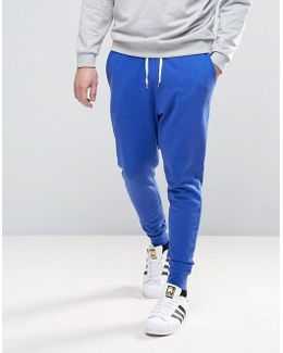 Tapered Joggers In Blue
