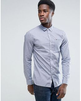 Tommy Gingham Shirt In Slim Fit
