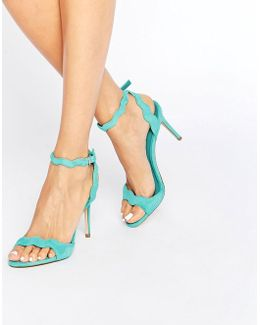 Carine Barely There Heeled Sandal