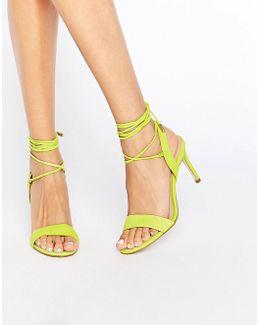 Marilyn Tie Up Heel