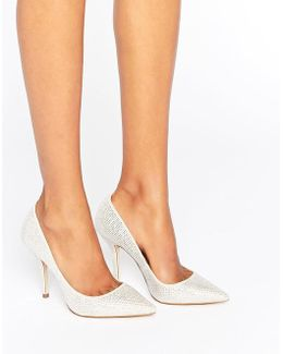 Haollan Crystal Court Shoes