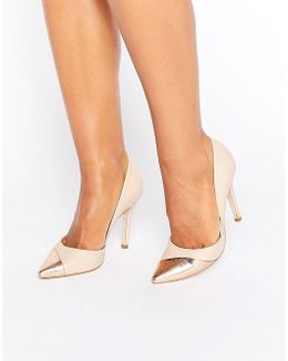 Caitlyn Contrast Court Shoes