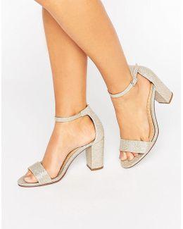 Pearl Heeled Sandal