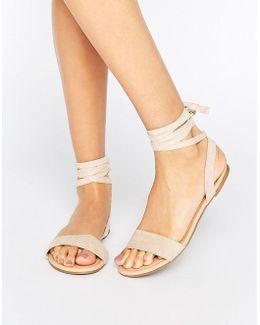 Fiona Tie Leg Sandals