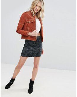 Modern Femme Print Mini Skirt