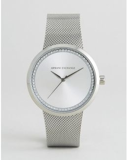 Silver Liv Watch