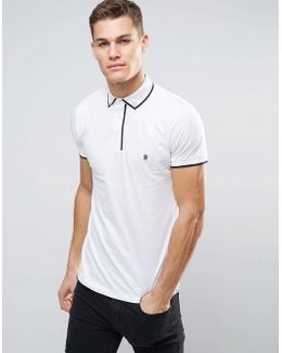 Piping Polo Shirt