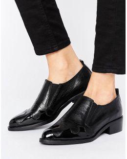 Magna Premium Western Leather Shoe