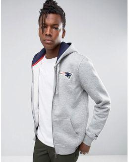Patriots Zip Through Hoodie