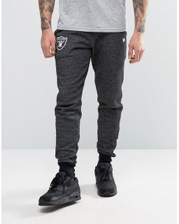 Raiders Joggers With Small Logo