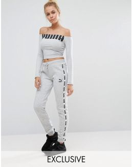 Exclusive To Asos Taped Sweat Pants