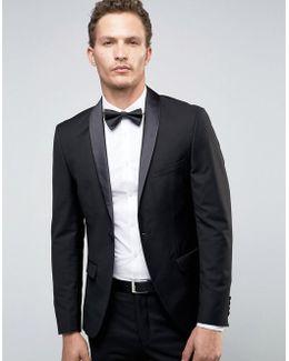 Super Skinny Tuxedo Suit Jacket