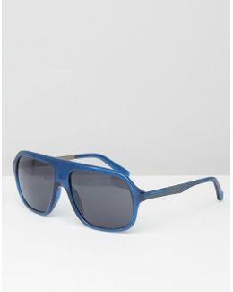 Visor Sunglasses Blue