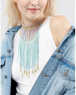 Mermaid Ombre Choker Necklace