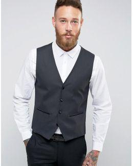 Slim Tuxedo Waistcoat