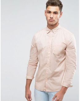 Shirt In Pale Pink