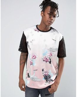 T-shirt In Floral Print