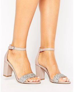 Cadey Embellished Strap Sandal