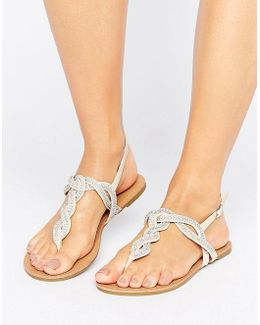 Danni Braid Gem Sandal