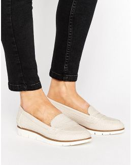 Nicole White Sole Loafer