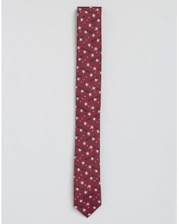 Christmas Tie With Pull My Cracker Print