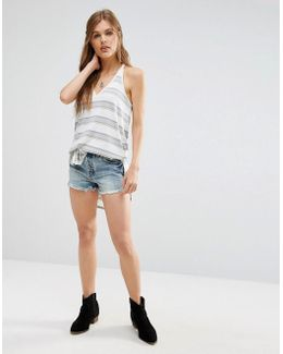 Uptown Denim Shorts