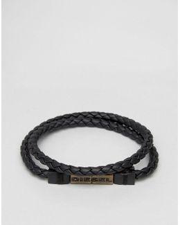 Alucy Wrap Bracelet In Black