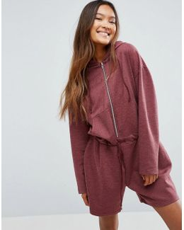 Oversized Sweat Romper