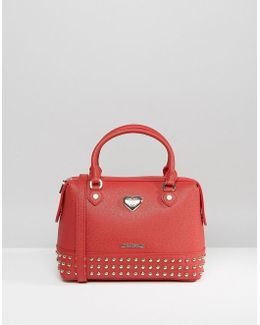 Studded Bag With Double Strap