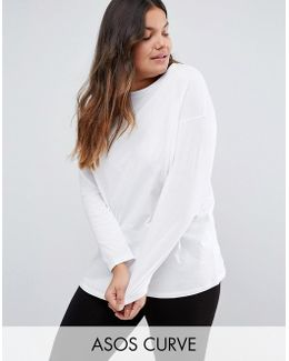 Ultimate Long Sleeved Tunic Oversized T-shirt