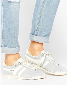 Bullet Suede Pale Blue Sneakers