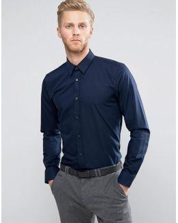 By Boss Elisha Slim Fit Basic Poplin Shirt